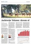 Jachtvrije Veluwe: droom of rampscenario?