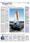 Spaceshuttle Discovery in de startblokken