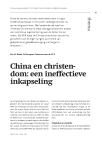 China en christendom: een ineffectieve inkapseling